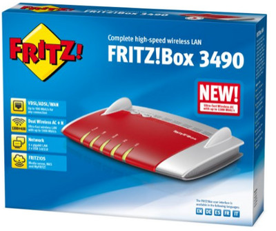 Risultati immagini per AVM FRITZ! Box 3490